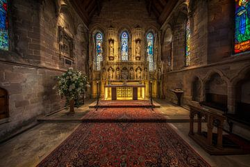 St Aidan's Church in het Verenigd Koninkrijk  von Steven Dijkshoorn
