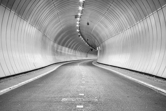 Heinenoord fietstunnel onder de Oude Maas
