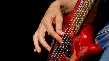 Les doigts sur la basse sur Winfried Weel