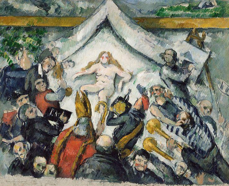The Eternal Feminine, Paul Cézanne von Meesterlijcke Meesters