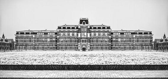 Ripperda Kazerne, Haarlem (zwart-wit)