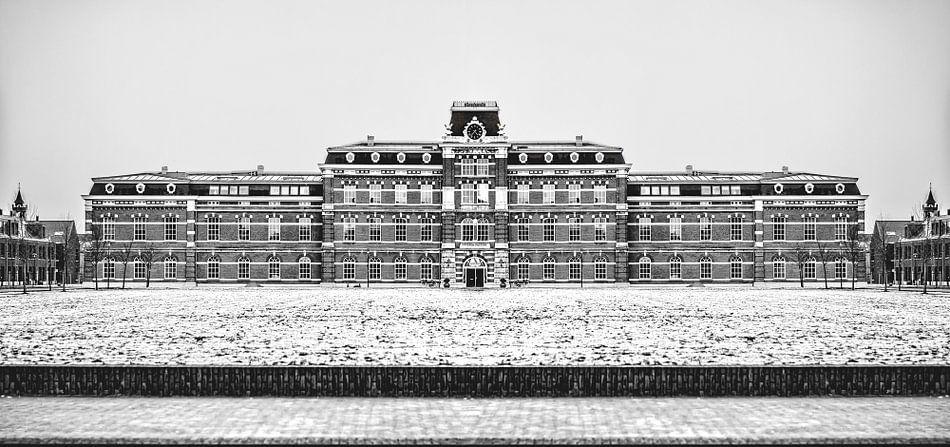 Ripperda Kazerne, Haarlem (zwart-wit) van Yvon van der Wijk