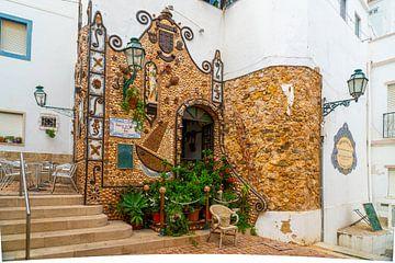 Restaurant in Albufeira an der Algarve in Portugal von Ivo de Rooij