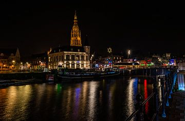 Spanjaardsgat in Breda bij nacht van