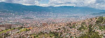 Medellín Panorama von Ronne Vinkx