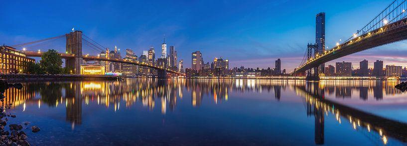 New York Panorama van Photo Wall Decoration