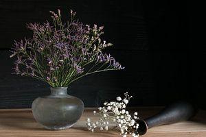 Stilleven met kleurrijke bloemen van Felix Sedney