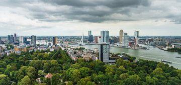 Skyline Rotterdam van Mister Moret Photography