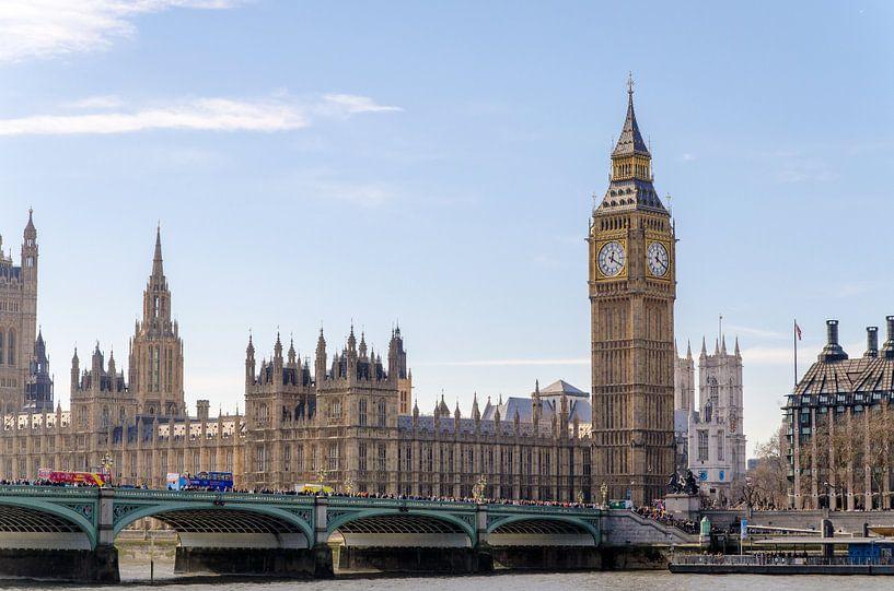 Big Ben Tower London van Jeffrey de Graaf