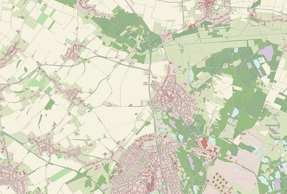 Kaart vanOnderbanken