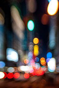 Abstract, New York City van