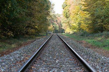 railroad track von Compuinfoto .