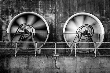 Große Ventilatoren von Albert Mendelewski