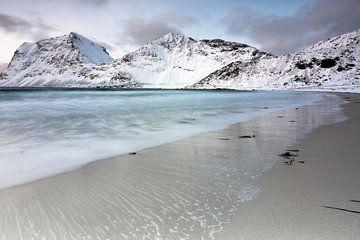 Verschneiter Strand von Hannon Queiroz