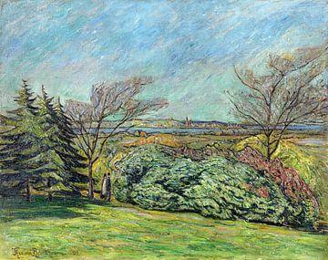 Franzensberg, zicht van, THEO VON BROCKHUSEN, 1909 van Atelier Liesjes
