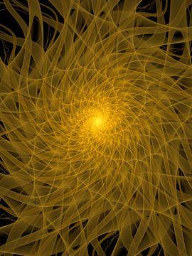 Gele Spiraal van Tim Abeln