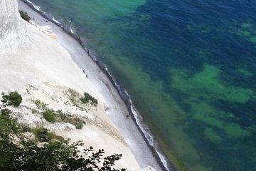 Vue aérienne de Mons Klint, Danemark sur Imladris Images