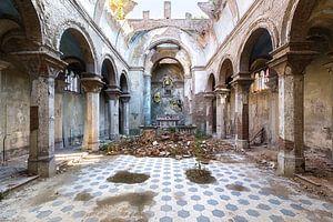 Verlaten Kerk in Italië.