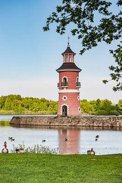 Le phare de Moritzburg, Allemagne sur Gunter Kirsch
