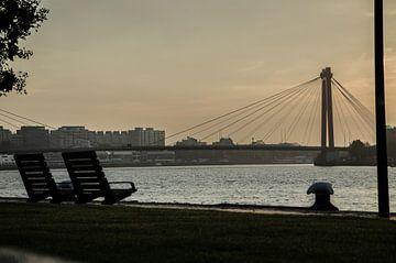 Rotterdam aan de maas 2 von Oguzhan Beyaztas