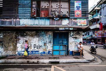 Straßenszene von Ubo Pakes