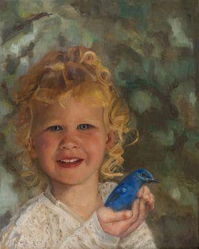 Bluebird van Erna van Lith