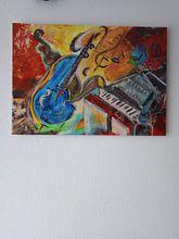 Klantfoto: Music of Soul van Katarina Niksic, op aluminium