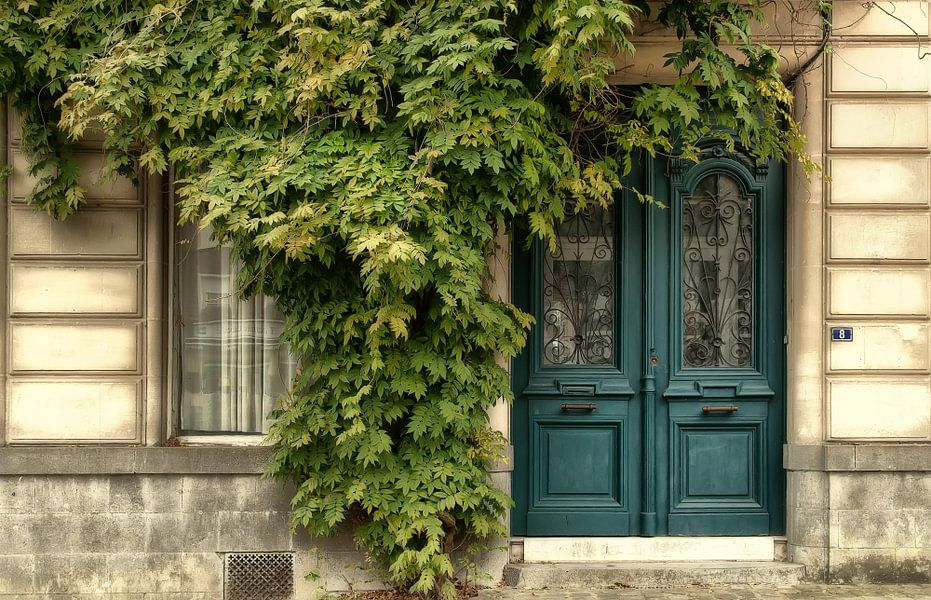 De deur in 't groen..