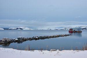 Natuur en visserij te Kirkenes, Noorwegen van Gerda Beekers