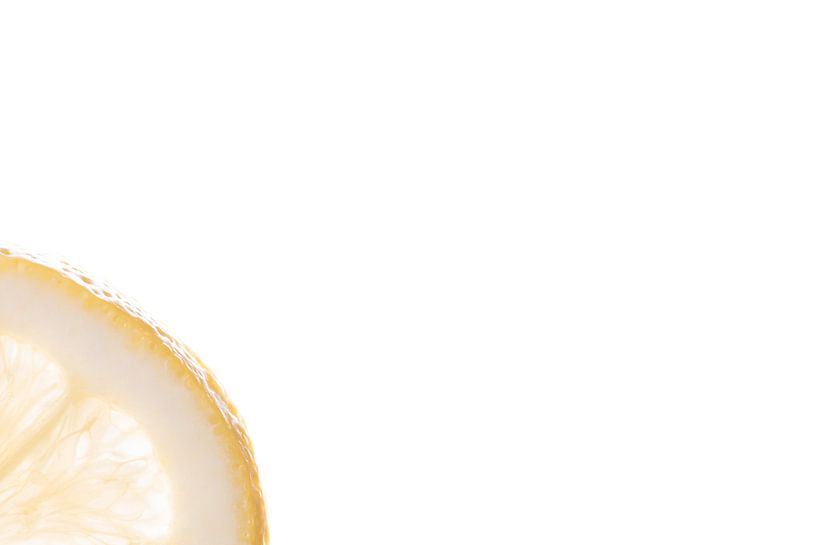 schijfje citroen van Anita Visschers