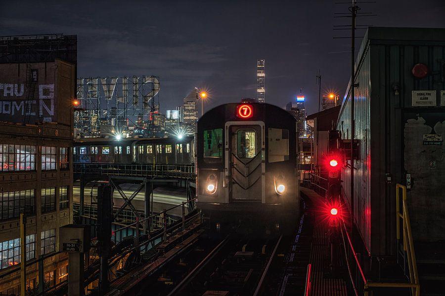 New York metro van Reinier Snijders