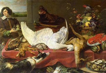 Nature morte avec un cygne, Frans Snijders sur