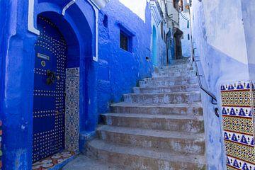 Medina von Chefchaouen, Marokko. von Tjeerd Kruse