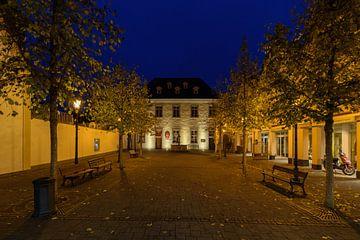 blaue Stunde am Blankartshof von Heinz Grates