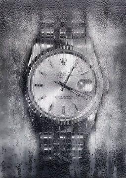 Rolex hinter dem Fenster von Bert Hooijer