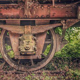 Verlaten treinen van Creativiato Shop