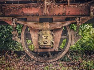 Verlaten treinen van