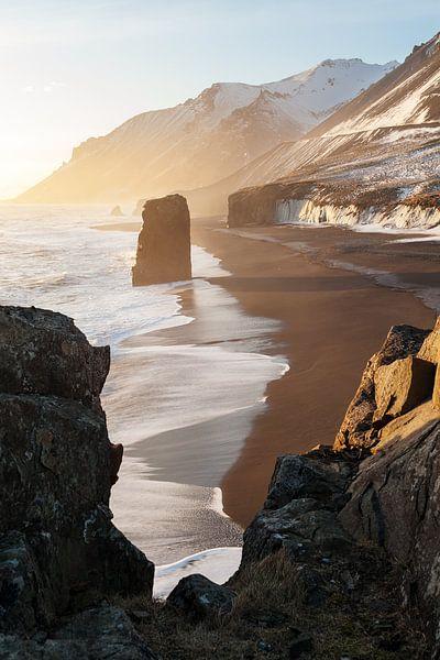 Stokksnes IJsland van Luc Buthker