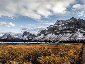 Bow Lake in Alberta, Kanada von Daan Duvillier