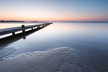Goldene Stunde am Schildmeer von P Kuipers