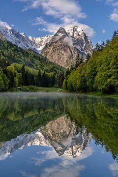 Zugspitzblick am Rießersee von Achim Thomae