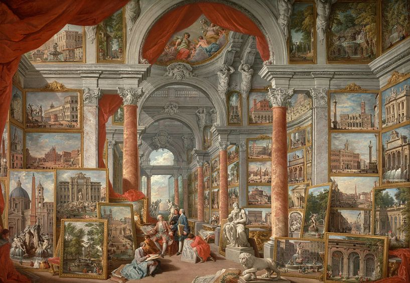 Modernes Rom, Giovanni Paolo Panini von Meesterlijcke Meesters