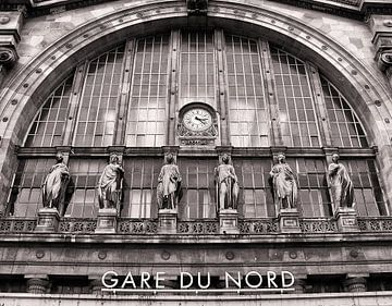 Station Gare Du Nord van Bob Bleeker