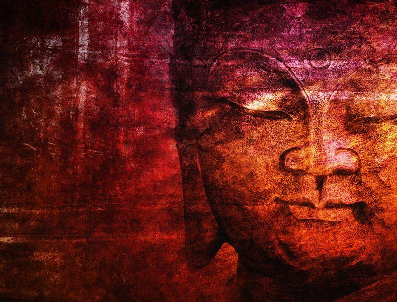 red buddha van Claudia Moeckel