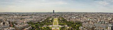 Panorama Champ de Mars von