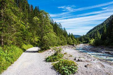 Weg im Wimbachtal bei Ramsau im Berchtesgadener Land von Rico Ködder