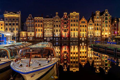 Amsterdam - Damrak in stilte
