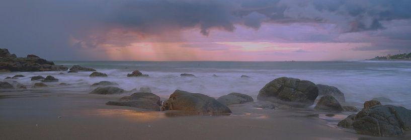 Purple sunset van peter meier