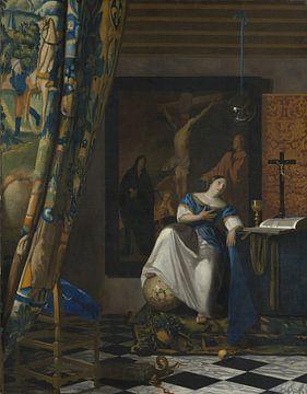 Allegorie des katholischen Glaubens, Johannes Vermeer