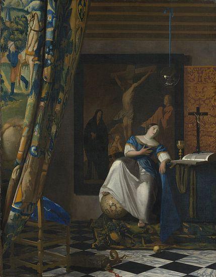 Allegorie van het katholieke geloof, Johannes Vermeer van Meesterlijcke Meesters